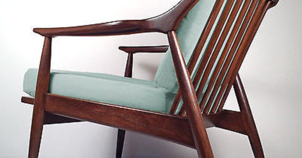 Vintage Mid Century Danish Modern Lounge Chair Retro Armchair Restored Danish Modern Lounge Chair Retro Chair Modern Lounge Chairs