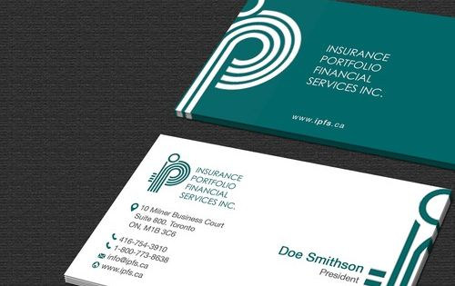 Create A Business Card For A Canadian Insurance Brokerage Employee