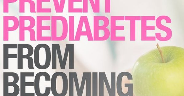 how to stop prediabetes from turning into diabetes