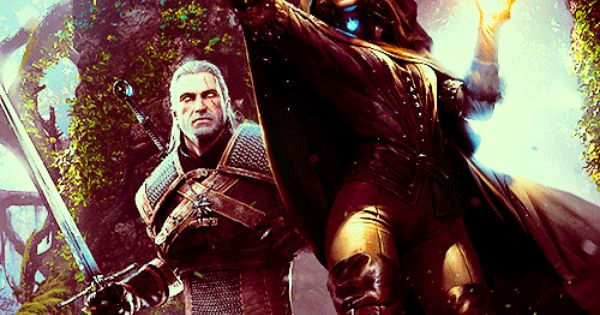 The Witcher 3 - Geralt and Yennefer | Animated gifs ...