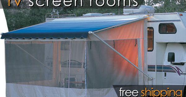 Shadepro Inc The Villa Enclosure Rv Screen Rooms Rv Screen Vintage Camper