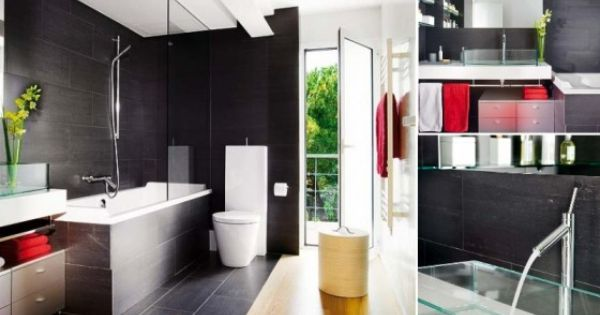 Bathroom Interior Modern And Tub Shower Combo On Pinterest
