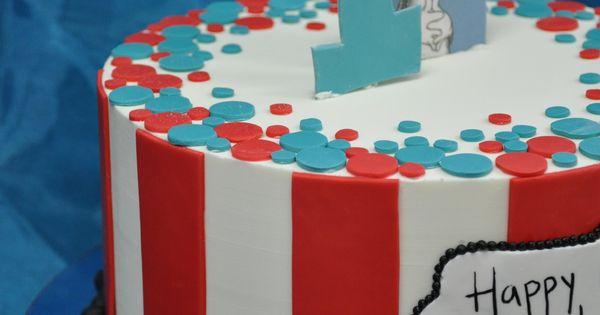 dr seuss birthday cake idea