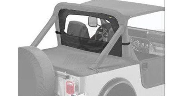 Bestop Soft Top Windjammer Cloth Black Denim Jeep Cj5 Cj7