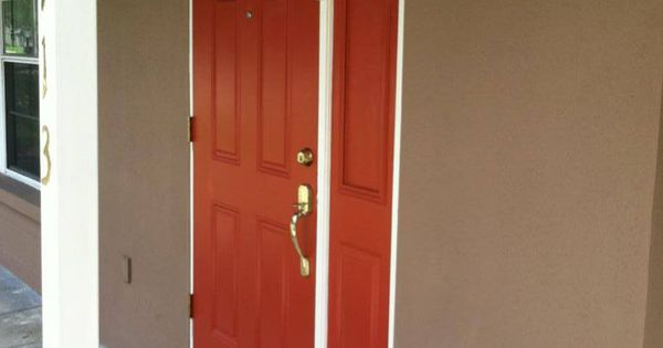 Door Color The Doors Are Sherwin Williams Brick Paver Red