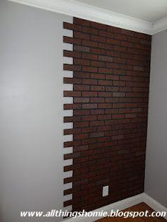 Accent Walls Metal Wood Brick Baksteen Bakstenen Muur Tegels
