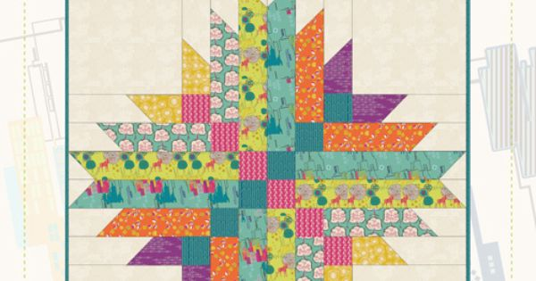 Astrodelic By Frances Newcombe Cool Quilt Patterns
