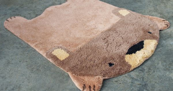 Bear Rug | 42 Adorable Animal Accessories For Your Home