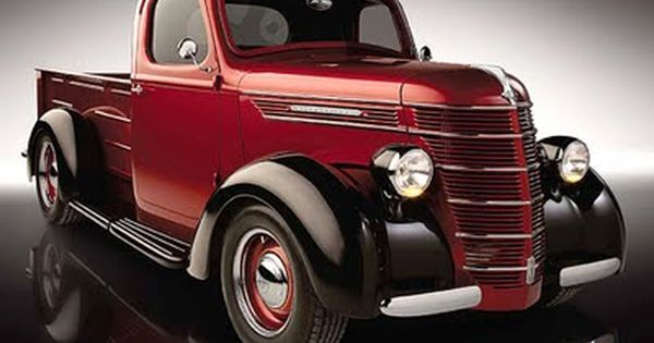 1939 international d series pickup trucks pinterest for International harvester room decor