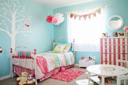 Dormitorios turquesa dormitorio turquesa turquesa y mi ni a for Cuartos de nina color turquesa