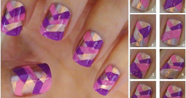 Cute Fishtail Braid Nails...