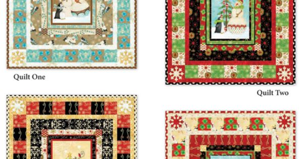 Fabric Collection Holiday Dreams By Deb Grogan For Rjr