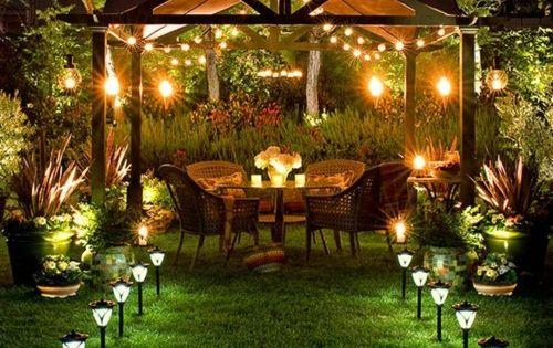 My dream outdoor space in my garden