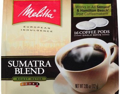 Melitta 75452 Sumatra Soft Pod Pack 16 Count Read More At The