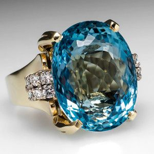 Desi Arnaz Proposed To Lucille Ball With A 40 Carat Aquamarine Aquamarine Cocktail Ring Jewelry Estate Jewelry