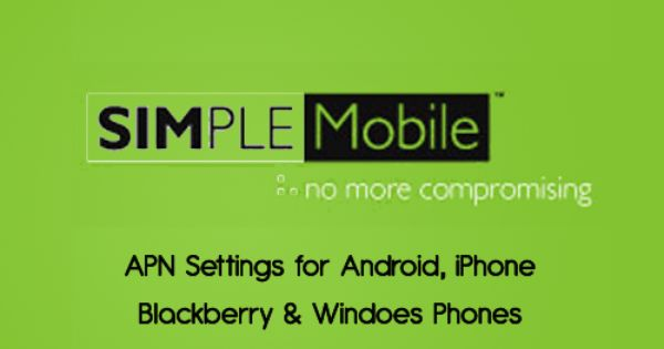 simple mobile apn settings iphone simple mobile apn settings simple mobile 6901