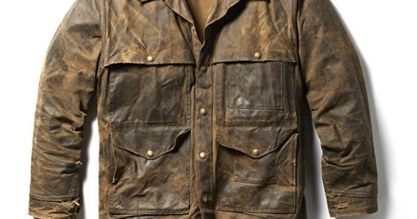 Filson Field Jacket In Their Legendary Oil Finish Tin