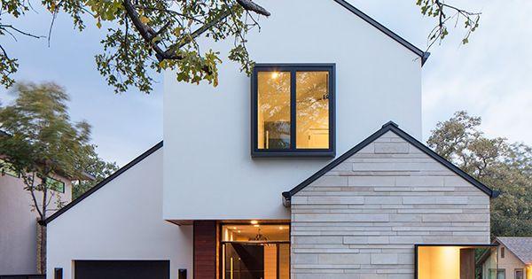 Dick clark associates house massing pinterest - Maison contemporaine dick clark architecture ...