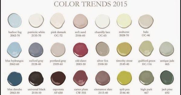 Benjamin moore colour trends 2015 colour pinterest - Benjamin moore exterior paint colors chart gallery ...