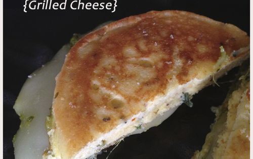 Pizza Flavored Coconut Flour Flatbread Grilled Cheese {Recipe Update} -In a bowl,
