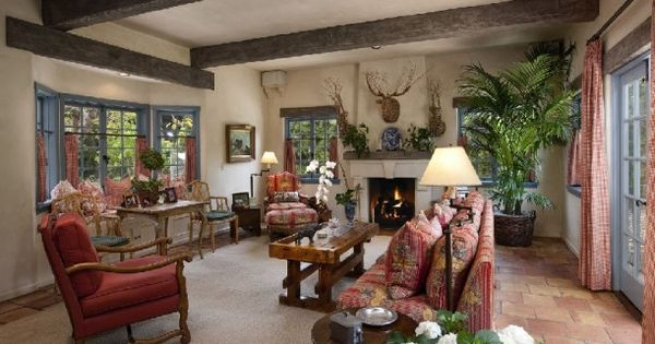 a french country estate for sale in montecito vigas de