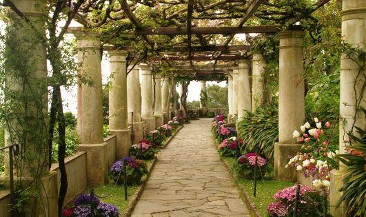 Villa San Michele Capri Italy Italy Trippin Pinterest Capri Italy Gardens And Decks