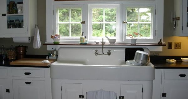Metal Kitchen and Porcelain Sink For Sale
