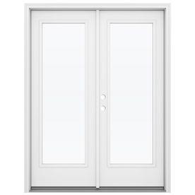 Reliabilt 59 5 In 1 Lite Glass Primed Steel French Inswing Patio Door French Doors Patio Patio Doors French Doors