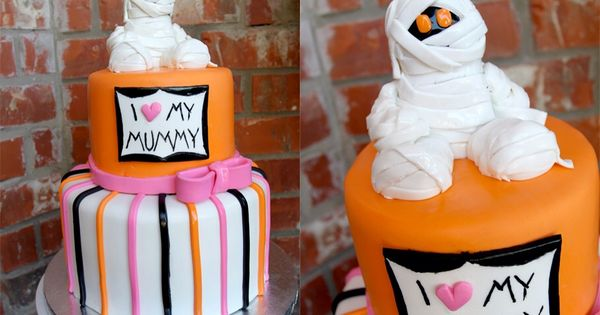 halloween baby shower themes ideas | My Favorite Cake is a Halloween