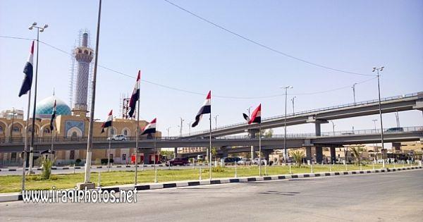 ساحة ثورة العشرين في محافظة النجف الاشرف Scenes Soccer Field Street View