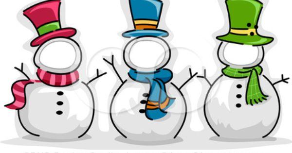 +snowmen Clip Art - Bing Images