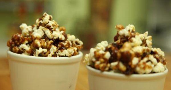 طريقة عمل البوشار بالكراميل Caramel Popcorn Food Recipes Cooking Recipes