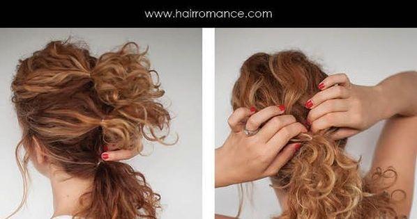 Tire seu cabelo do pescoço e prenda-o nesses enrolados estilosos para a