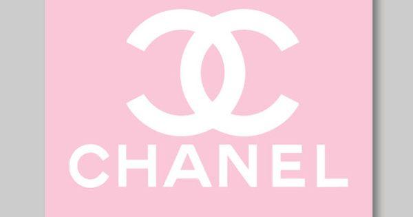 coco chanel logo parfume perfume single print   home