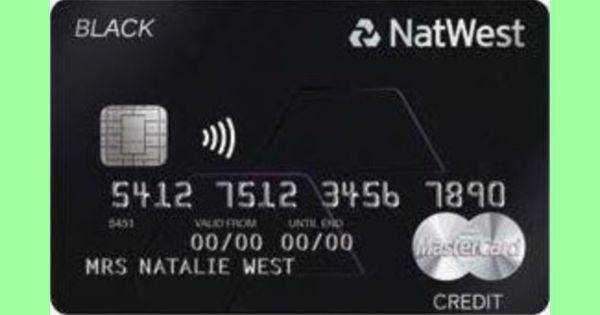 Natwest Reward Black Credit Card The Point Calculator Credit Card Reward Card Bonus Cash