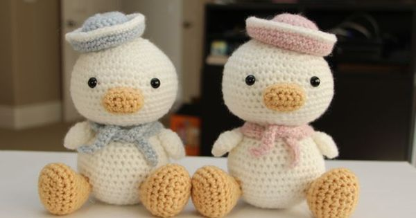 An adorable pair of sailor ducks! by Little Muggles ...