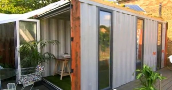 Amazing Spaces With George Clarke Transform A Shipping Container