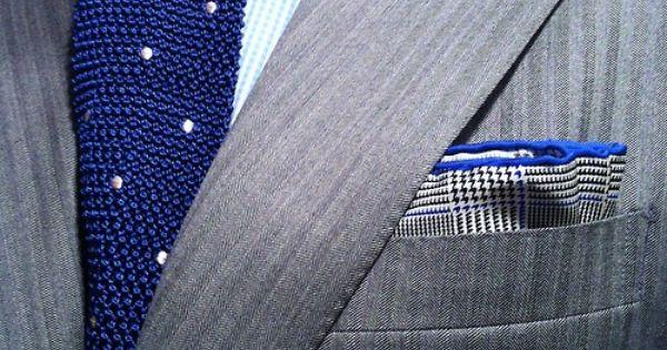 Necktie - Cravate / Pochette / Chemise / Costume / Motifs