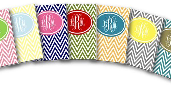 FREE chevron printable binder covers!