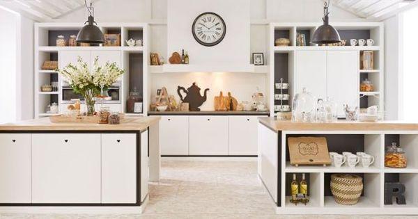 Landelijke keuken van riverdale via tieleman keukens keuken houten keukens maatwerk - Redo keuken houten ...