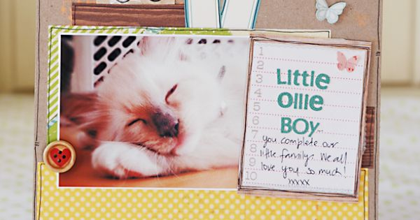 Little Ollie Boy by Belinda Venables for Studio Calico