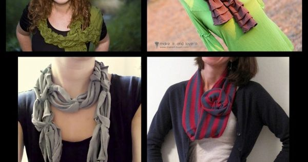 DIY Scarf: AliLily | Gorgeous DIY Scarves Round Up and Link Party