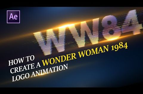 How To Animate Wonder Woman 1984 Logo In After Effects Beginner