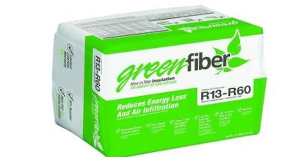 Greenfiber Blow In Fiber Insulation Ins541ld The Home Depot Blown In Insulation Fiber Insulation Insulation