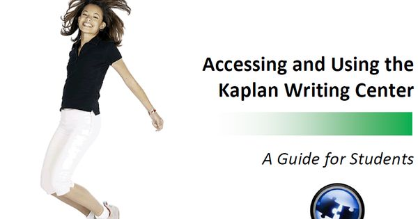 Writing Center for Kaplan University students https://kucampus ...