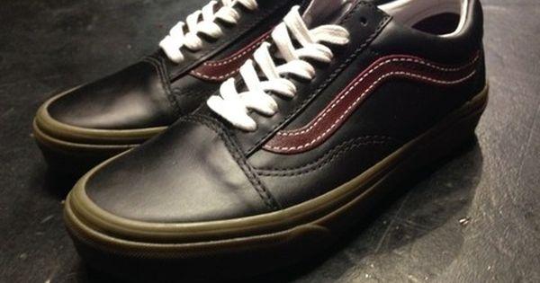 Vans Old Skool Cuero (Bleacher) blackportgum Z9541 (NR