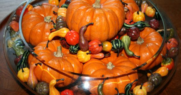 Thanksgiving table centerpieces | 33 Beautiful Thanksgiving Table Decorations