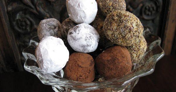 BakerGal: Roasted Almond Chocolate Truffles | Nom nom nom nom (paleo ...