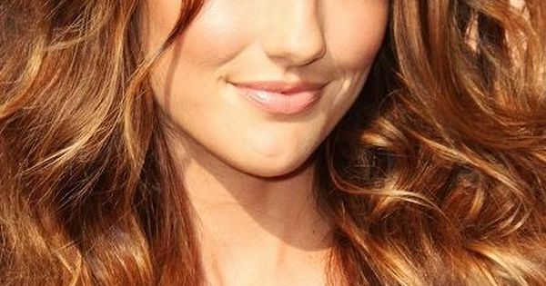 Golden Bronze Highlights Hair Makeup Nails Pinterest