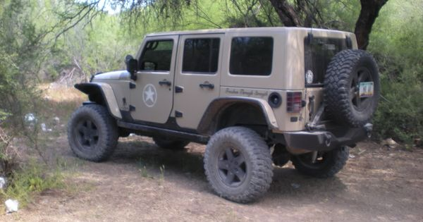 Army Jeep Military Tan W Stars And Logos Jkowners Com